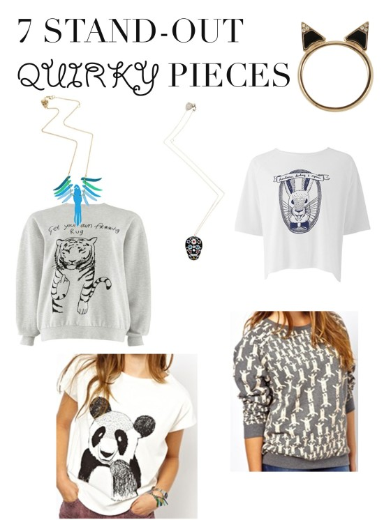 quirky pieces